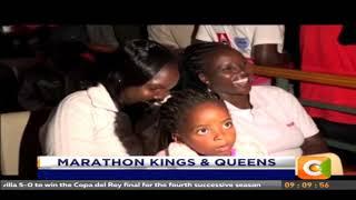 President Kenyatta has led Kenyans in congratulating kipchoge and Cheruiyot