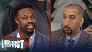 Bart Scott weighs in on who's to blame for the Eagles' struggles | NFL | FIRST THINGS FIRST