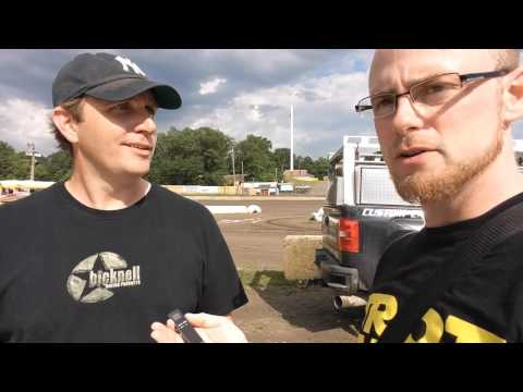 TrotCast at Orange County Fair Speedway - Mike Kolka Interview