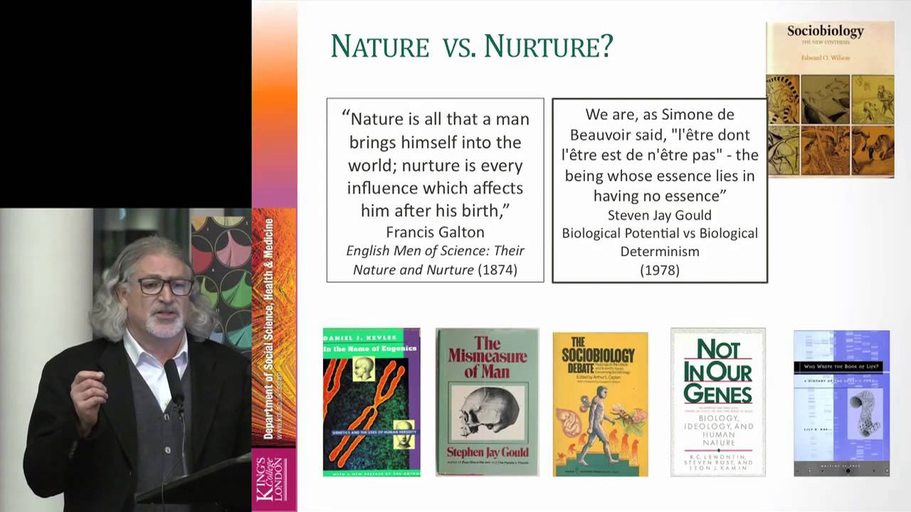 sociology nature versus nurture and play