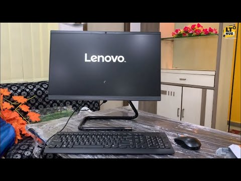 Lenovo All In One PC Unboxing   Lenovo Ideacentre A340-22IWL all-in-one desktop   LT HUB