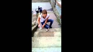 Aplikace na betonové schody