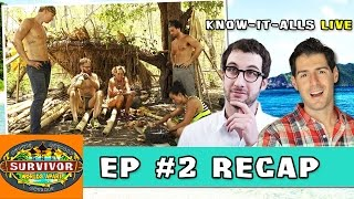 Survivor Worlds Apart Episode 2 Recap | Know-It-Alls LIVE | March 4, 2015