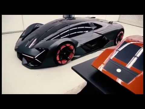 Concept Lamborghini Terzo Millennio 2018 год
