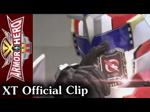Armor Hero XT - Official English Clip [HD 公式] - 19