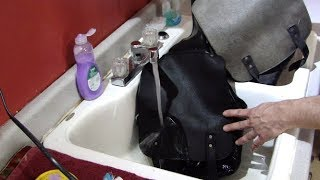 Old Leather Saddle Bags Restoration- Rescued From the Landfill Episode 2