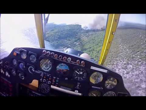 Kanader I Air Tractor U Akciji