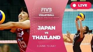 Japan v Thailand - Group 1: 2016 FIVB Volleyball World Grand Prix