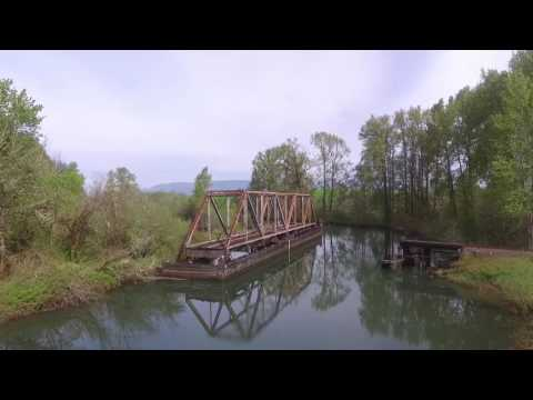 Flying around Clatskanie, Oregon
