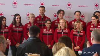 Canadian Olympic Team 2018 Announcement