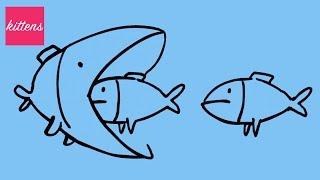 Смешной зоопарк МУЛЬТФИЛЬМ про животных и птичек Funny Zoo Cartoon about animals