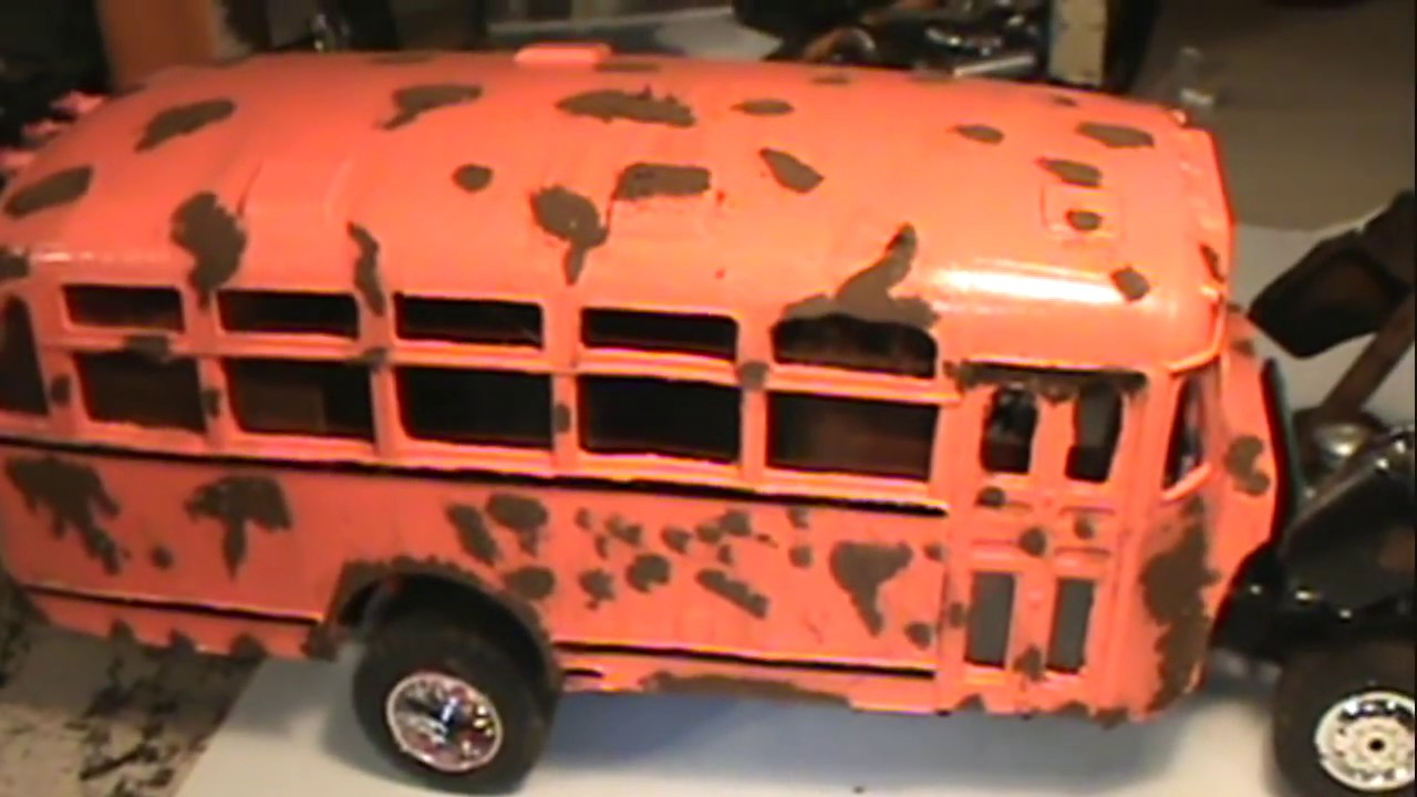 Ford F250 Parts >> STONEY'S OLD 41 FORD SCHOOL BUS CUSTOM CAMPER JUNKER BUILD.NOTHING LIKE IT! 1/25 SCALE - YouTube