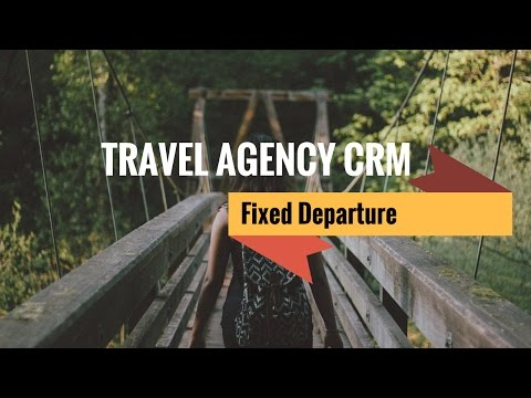 [HD] Travel Agency CRM: Fixed Departure