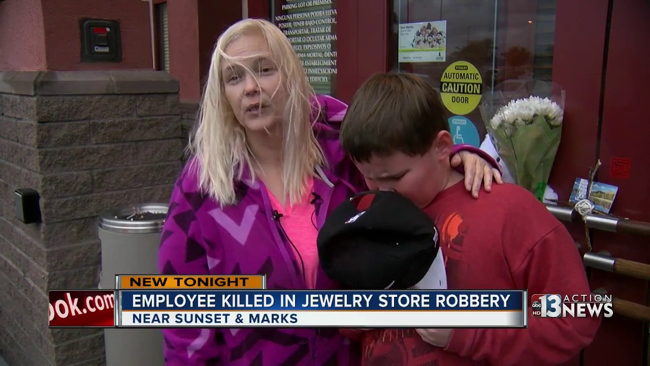 Employee killed in jewelry store robbery YouTube