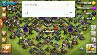Troops attack th 9 push trophy #clash_of_clans