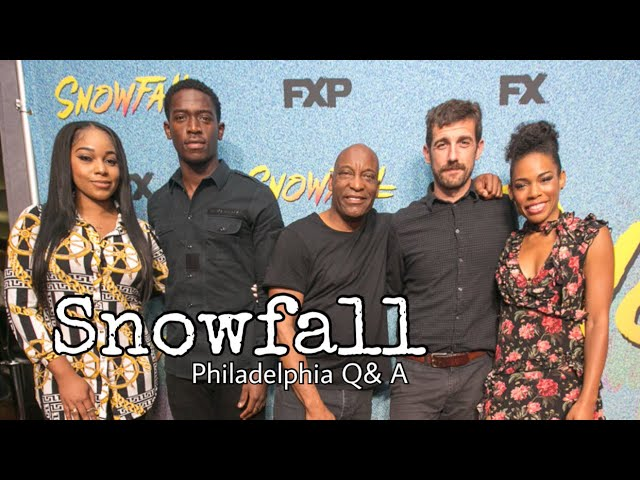 Snowfall Season 2 | John Singleton + Cast Q&A Philly  (2018)
