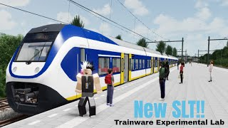 Trainware New SLT 8/3/19 [Roblox Trainware Experimental Lab]