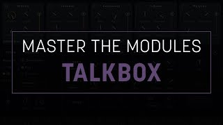 How to Use VocalSynth 2: Talkbox