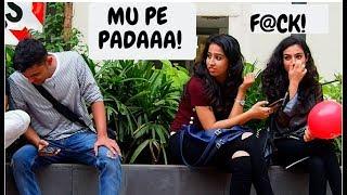 CUTE GIRLs  WET FART PRANK (MUMBAI)    TEAMBLADE