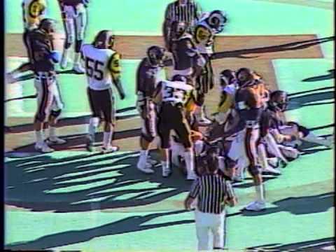 Highland High School (Utah) Football 1987 - Semi-Finals - Brighton Game part 1