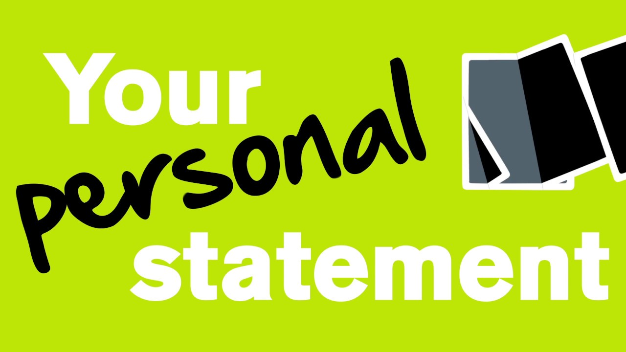 what do you write in a personal statement