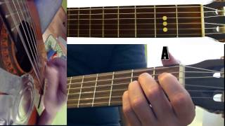 How to play Five Hundred Miles on guitar - Justin Timberlake - Guitar Tutorial
