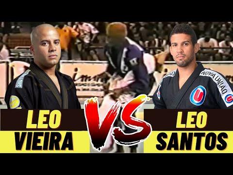 OLD SCHOOL BJJ: Leonardo Santos vs Leo Vieira CBJJ  Brasileiro de Equipes 2000