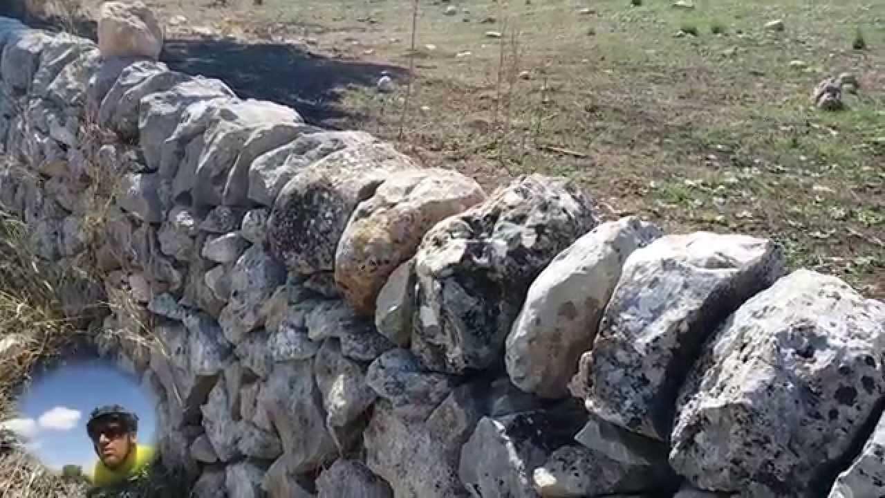 Muri a secco modica youtube - Costruire casa in pietra ...