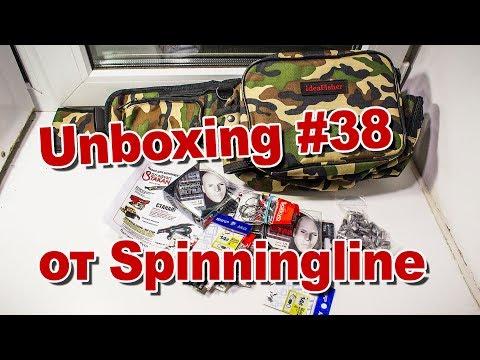 Unboxing #38 IdeaFisher, Saikyo, Metsui, Fish Gold, Akkoi от магазина Spinningline