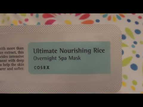 cosrx-ultimate-nourishing-rice-overnight-spa-mask-review