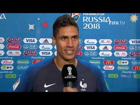 Raphael VARANE (France) - Post Match Interview - MATCH 21