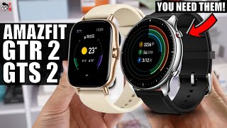 Amazfit GTR 2 and GTS 2 PREVIEW: Finally, Bluetooth Calls!