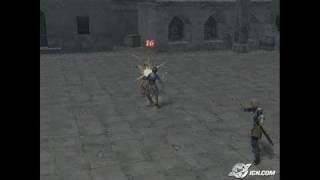 Suikoden IV PlayStation 2 Gameplay - Street fight