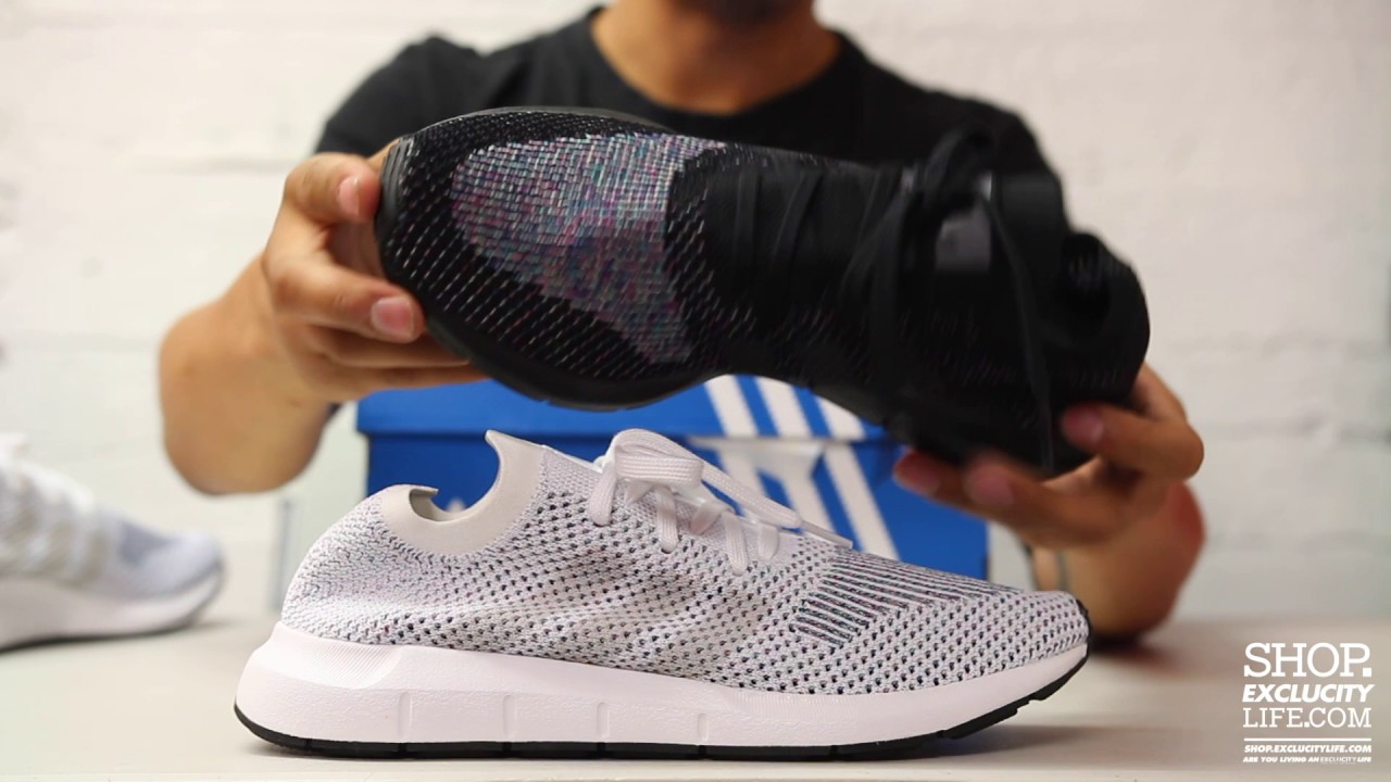 promo code 58fd3 ec54f Adidas Swift Run PK Unboxing Video at Exclucity
