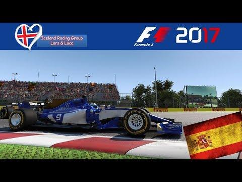 F1 2017 - Iceland-Racing-Group - Liga - 5. Rennen - Spanien
