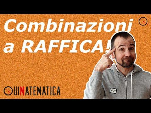 Calcolo combinatorio: quiz a RAFFICA