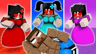 3 Sadako Love Curse Episode 2! - Funny Minecraft Animation