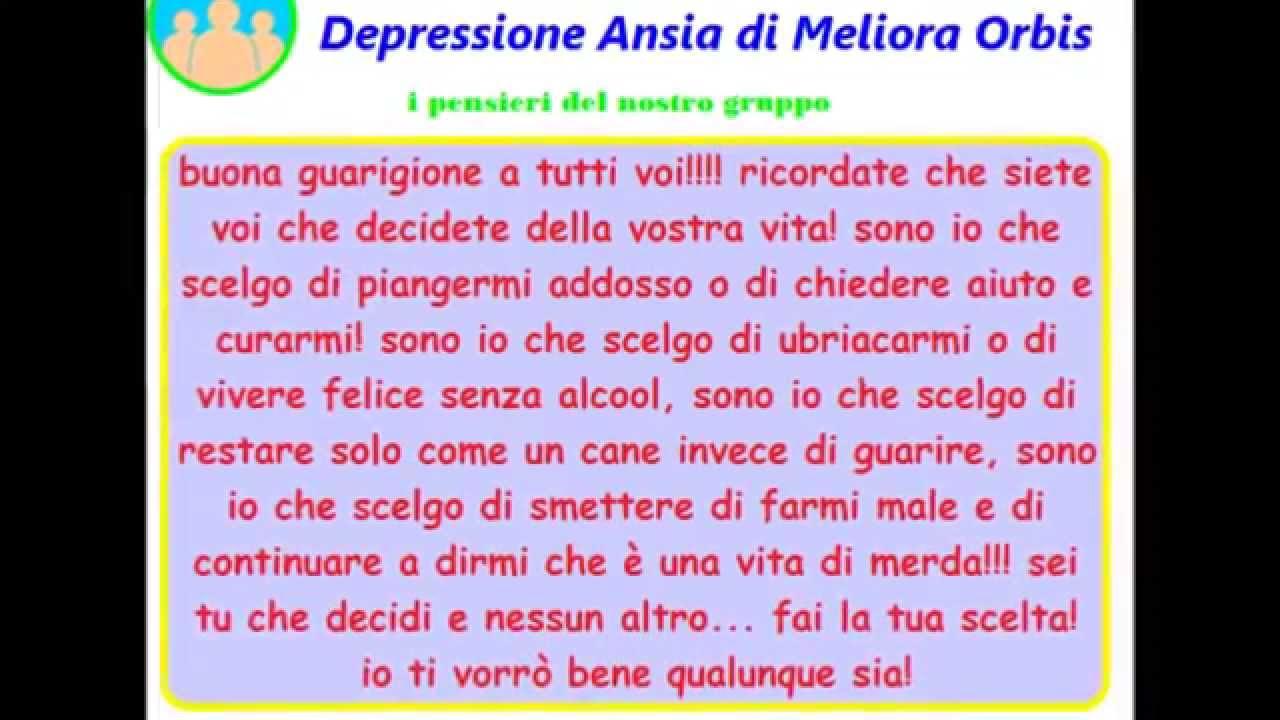 Favoloso ansia e depressione frasi del gruppo di auto aiuto n2 - YouTube YQ66