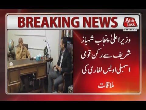 MNA Awais Laghari Calls on CM Punjab