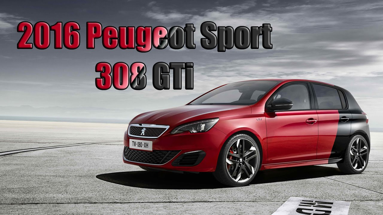 270 HP Peugeot Sport 308 GTi Review (2016 Model Year)