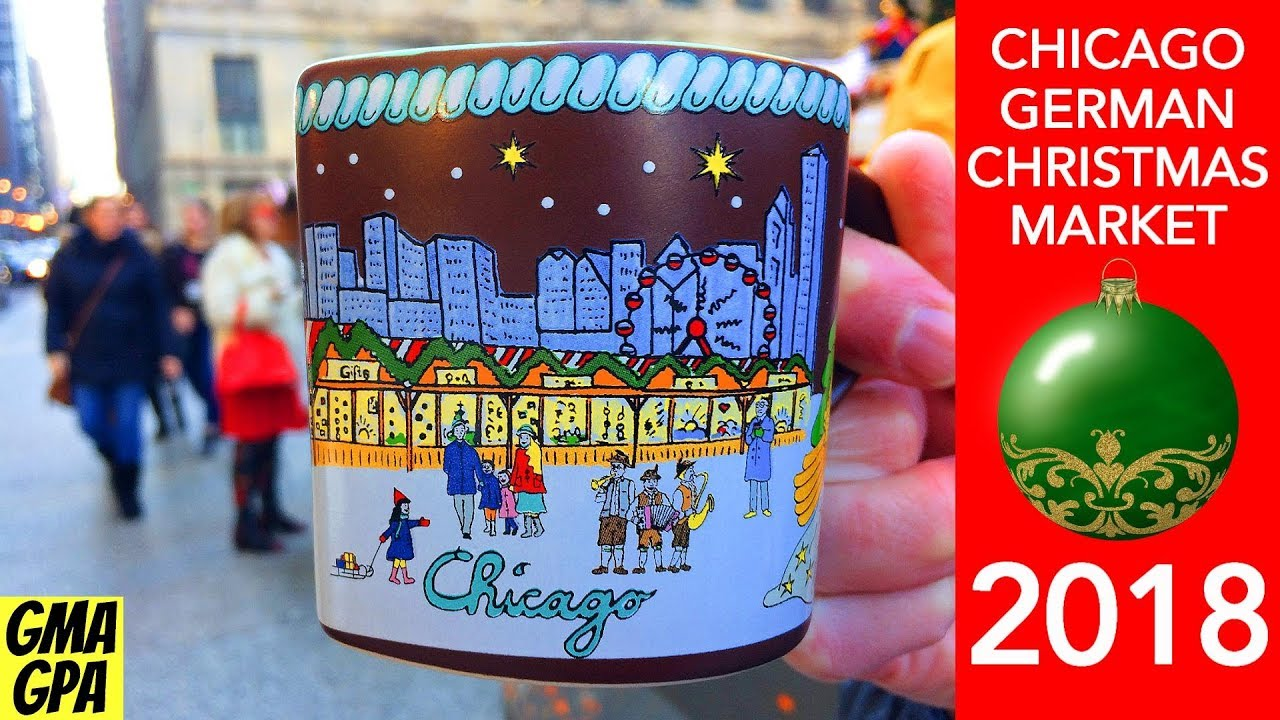 German Christmas Market In Chicago
