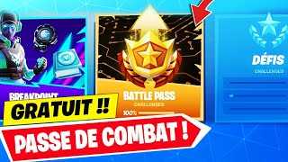 OBTENIR THIS FREE COMBAT SEASON 10 ON FORTNITE! Challenges