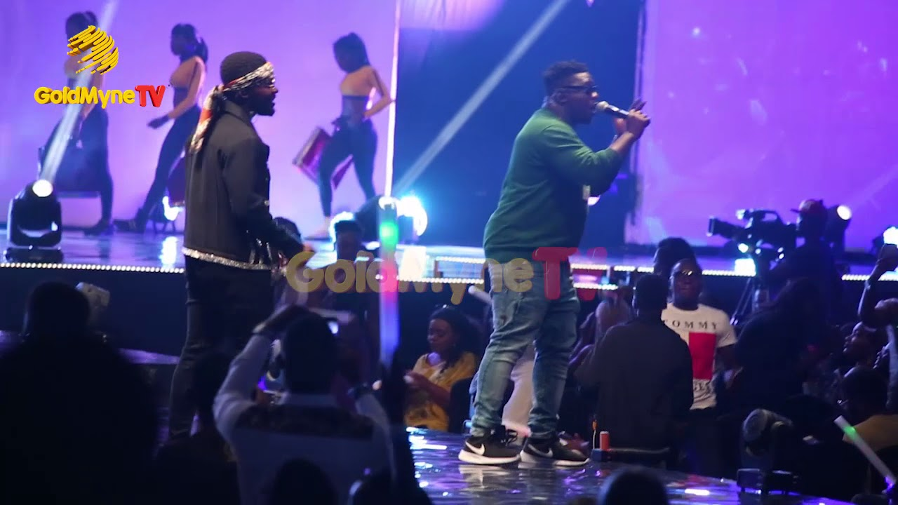 FALZ AND WANDE COAL'S PERFORMANCE AT THE FALZ EXPERIENCE