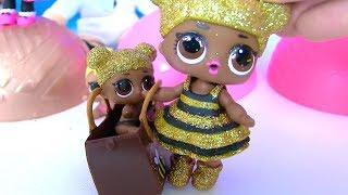 # Лол LoL Surprise Босс Молокосос и Сюрпризы ЛОЛ #Видео для детей! Мультик с игрушками!