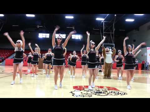 Struthers High School Cheerleaders Uptown Funk