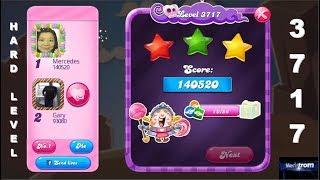 Candy Crush Saga 3717      HARD LEVEL      3-Star ⭐⭐⭐