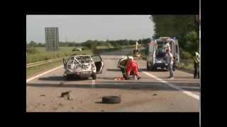 Geisterfahrerunfall auf A19 bei Rostock
