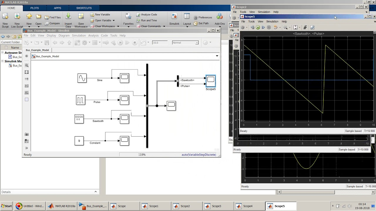 All about Buses - Bus Creator, Bus Selector and Bus Assignment block in  Simulink