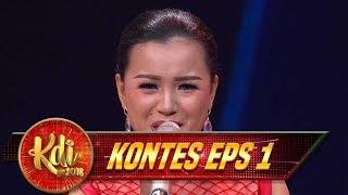 Hebat, Indri Membawakan Lagu [BERCANDA] Dengan Sangat Menghayati - Kontes KDI Eps 1(6/8)
