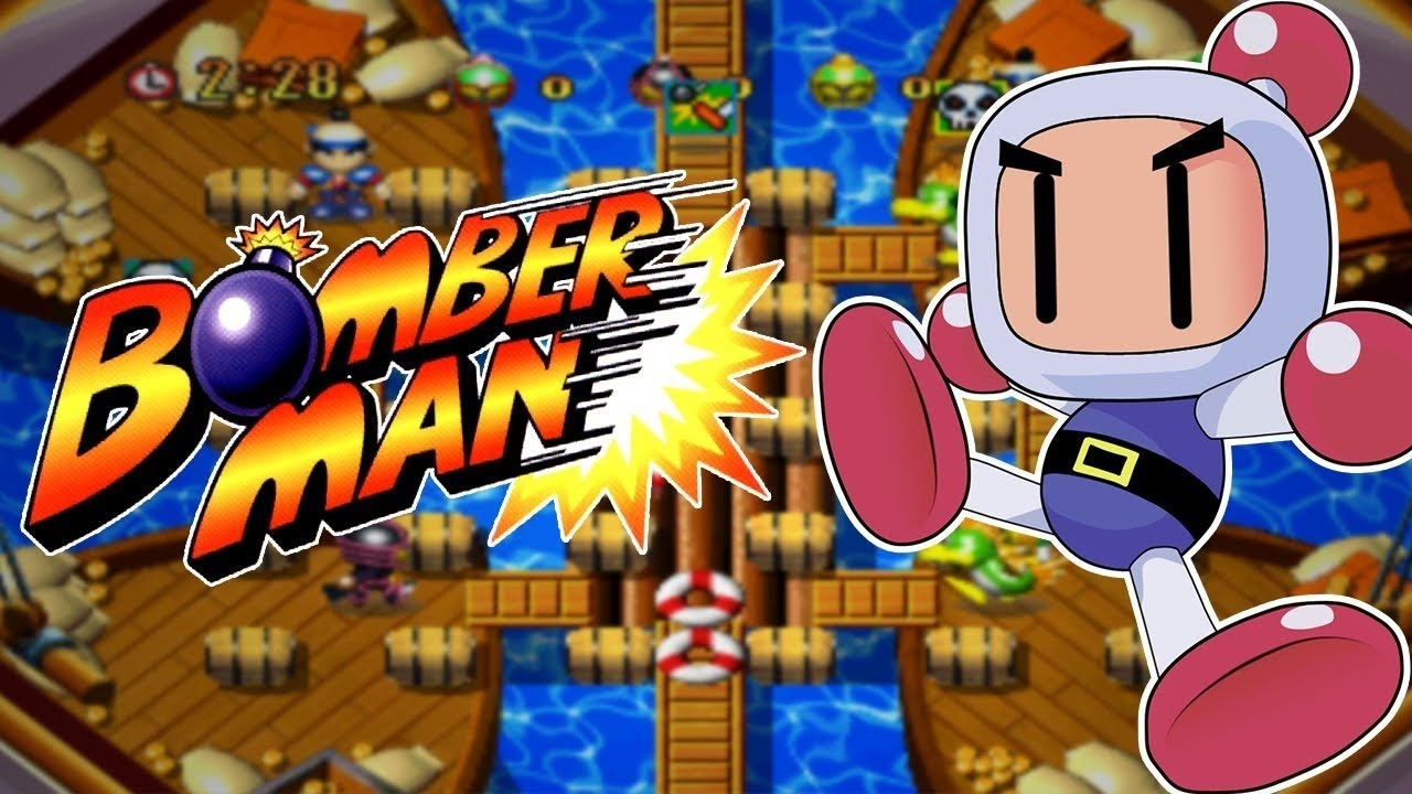 DOWNLOAD Super Bomberman 1.2.3.4.5 game free PC full ...